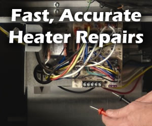 Fast Heater or Furnace Repairs